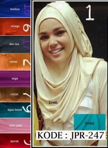 Cara Memakai Jilbab Instan Ala Dewi Sandra Alias Hana #chsi