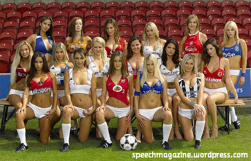 sexy football wags